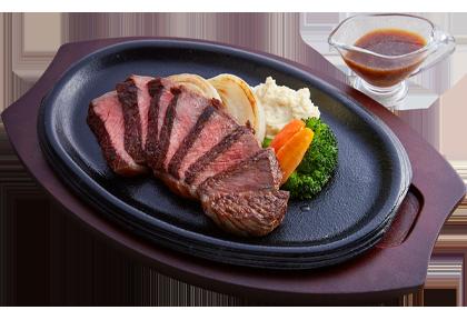 洋食あじと 黒毛和牛のグリルステーキ