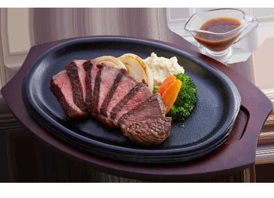 洋食あじと 黒毛和牛のステーキ
